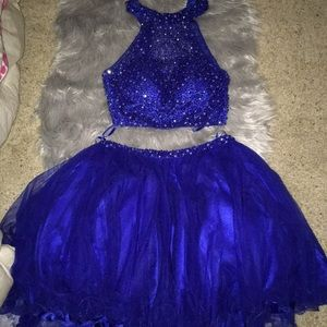 Homecoming or prom dress two piece
